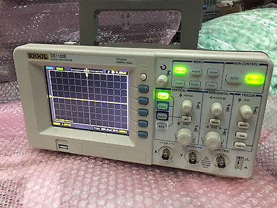 Rigol Ds1102e Digital Oscilloscope 100mhz 1 Gsas 2 Channels 1mpts 5.7 Tft Usb