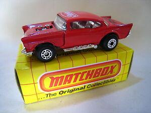 MATCHBOX SUPERFAST MB4 '57 CHEVROLET/CHEVY - HEINZ - BOXED - MIB