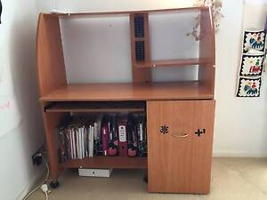 Student Desk with shelves and filing cabinet Bronte Eastern Suburbs Preview
