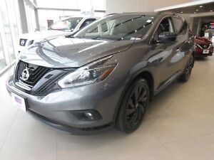 2018 Nissan Murano Midnight Edition AWD ONLY $122 WEEKLY O.A.C.