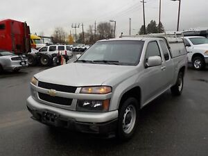 2011 Chevrolet Colorado 1LT Extra Cab 2WD with High Service Cano