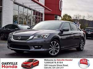2015 Honda Accord Sedan L4 Sport 6sp 1-Owner|Clean Carproof|Sunr