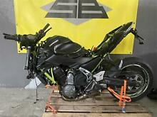 Kawasaki z 650 2018 incidentata crashed bike