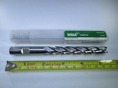 New 12mm Widia Hanita Cobalt Long Length End Mill M42 Milling Lathe Tool Bit
