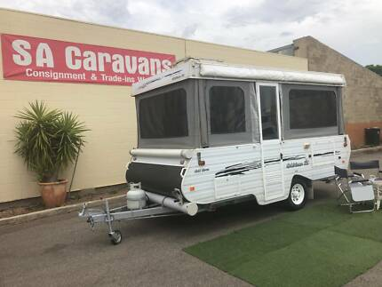 2005 GOLDSTREAM GOLD CROWN CAMPER with AWNING and SOLAR Klemzig Port Adelaide Area Preview