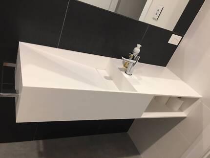 1200 wall basin sink - Kado Aspect