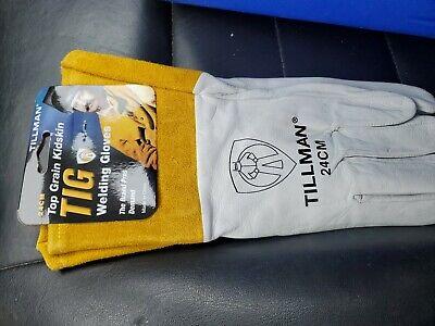 Tillman 24cm Top Grain Kidskin Tig Welding Gloves - Medium