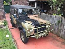 1990 ARMY Land Rover 110 Perentie Lilyfield Leichhardt Area Preview