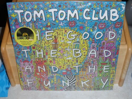 Tom Tom Club - The Good The Bad and The Funky LP 2021 RSD Colored Vinyl