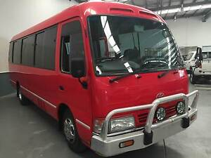 2002 Toyota Coaster Bus Eagle Farm Brisbane North East Preview