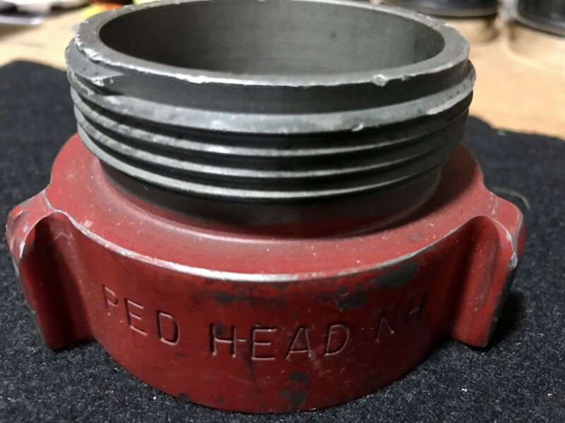 "Redhead 3"" PIPE-THREAD - 2 1/2"" Male NH Adaptor."