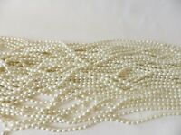 110 pcs x Glass Pearl Rice Grain Beads:#67D Steel Grey