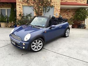Convertible Mini Cooper ( Full Service History) Bellerive Clarence Area Preview