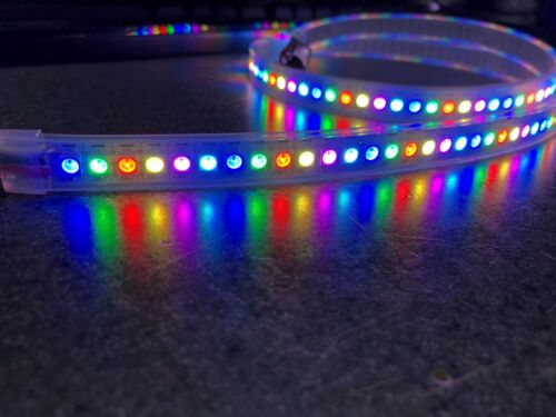 WS2812 / WS2812B LED Strip, 30/60/96/144 LED/m, IP67 waterproof