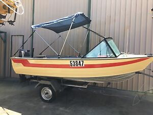 4.2 runabout with reliable 30hp mariner South Guildford Swan Area Preview