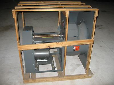 Peerless Electric 200m 7000 Cfm Industrial Blower 20 W 10hp 3ph Baldor Motor