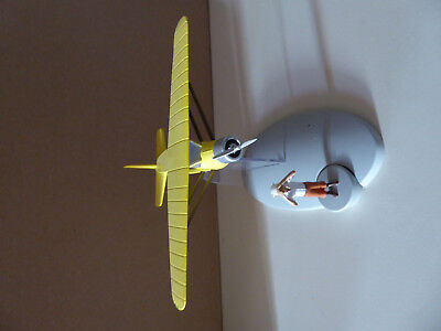 TINTIN figurine hydravion CN-3411 Le Crabe aux Pinces d'Or 1/100e CARREFOUR 2013 tweedehands  verschepen naar Netherlands