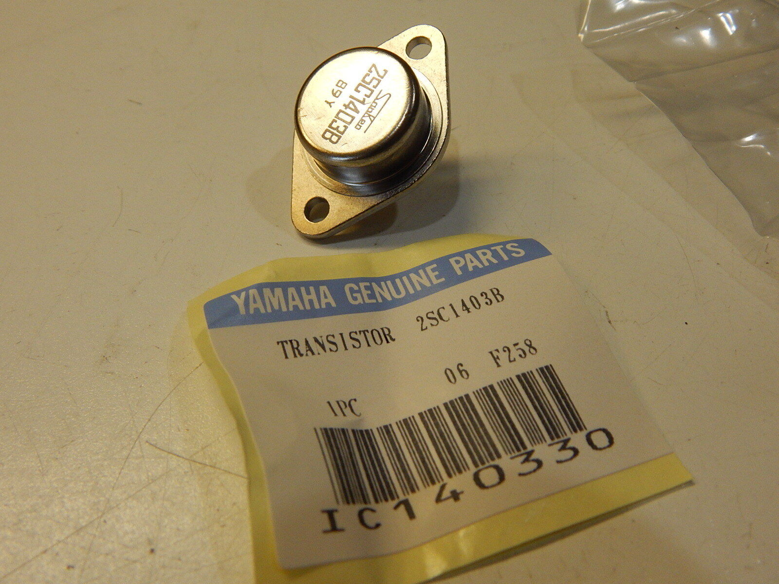 1pairs  Transistor SANKEN TO-3 2SA981//2SC2261 A981//C2261