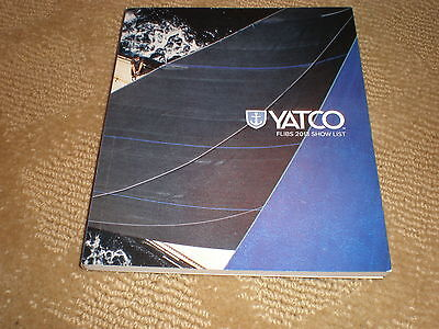 YATCO FLIBS 2013 SHOW LIST -  FT LAUDERDALE BOAT 280' CAKEWALK To 28' BENETEAU