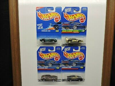Hot Wheels Ferrari Exotic Supercar Lot of 4 - 250 F40 308 and 355 variations