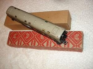 Märklin HO D-Zug Postwagen Art.4013 - 346/5  1954 +Beleuchtung  im Raute-Karton