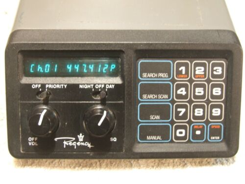 Working Tested Regency MX-3000 UHF/VHF Programmable Scanner