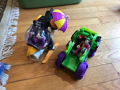 Fisher Price IMAGINEXT BATMAN Penguin Copter Helicopter DC Superfriends