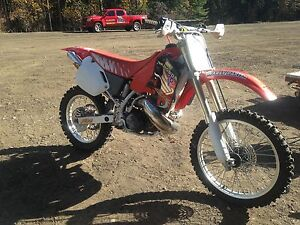 Honda CR500R all original mint 40 hours of use