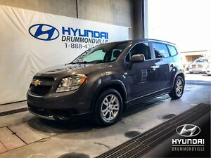 CHEVROLET ORLANDO LT + 7 PASSAGERS + MAGS + CRUISE + A/C + WOW !