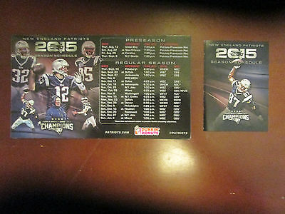 NFL- 2 TICKETS FOR NEW ENGLAND PATRIOTS VS. N.Y. GIANTS -9/3/2015- 1ST ROW @40