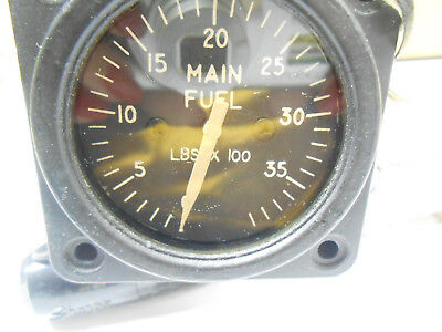 383018-20658 SIMMONDS MAIN FUEL INDICATOR OLD STOCK USED