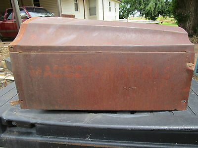 Massey Harris 101 Senior Tractor Empty Gas Diesel Fuel Tank
