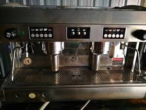 Wega polaris coffee machine 2 group and grinder