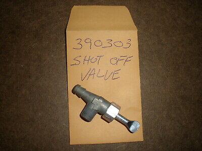 Briggs Stratton Gas Engine Fuel Shut Off Valve 390303 New Old Stock Vintage