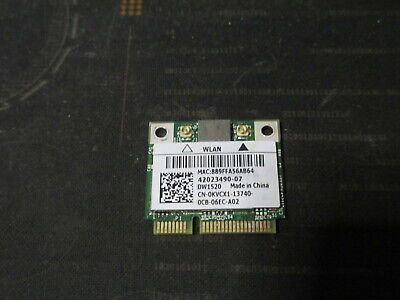 Dell Wireless 1520 802.11AGN Mini-PCIe Half-Height WiFi Card 0KVCX1 BCM943224HMS