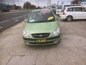 2009 Hyundai Getz Hatchback Fyshwick South Canberra Preview