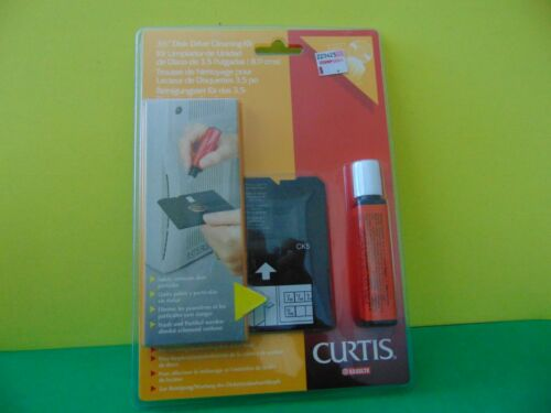 """Esselte Curtis 3.5"""" Disk Drive Cleaning Kit CK5 67549 New & Sealed"""