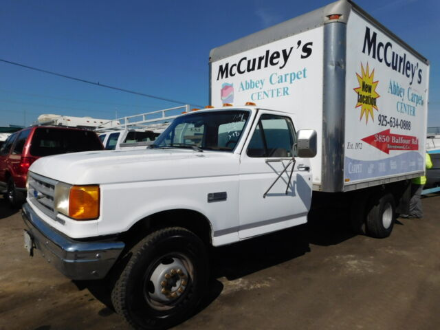Image 1 of Ford: F-350 White 2FDLF47M9KCB24058