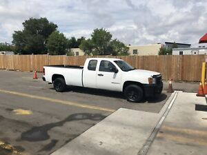 GMC SIERRA 4X4 EXTENDED CAB, 8 FT BOX
