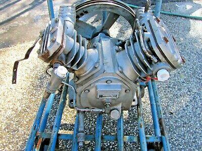 Ir Ingersol Rand T 30 Compressor Pump W Extras