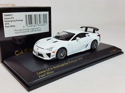 1:64 Kyosho CAR.NEL Lexus LFA LF-A Nur Nurburgring Package 2010 White LE Japan