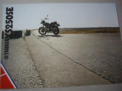 Yamaha XS250SE sales brochure