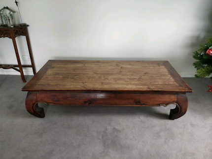 Charming Rustic Indonesian Coffee Table