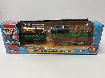 2006 Thomas & Friends Trackmaster Percy's Chocolate Crunch Hit Toy Company NIB!!