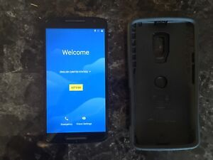 Moto X with Otter Box, Screen Protector, Charger (lightning)