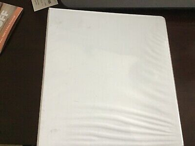 3 Ring Binder For School And Office White2 Inch