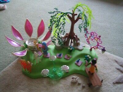 Playmobil Fairies garden set with jewel fountain 5444
