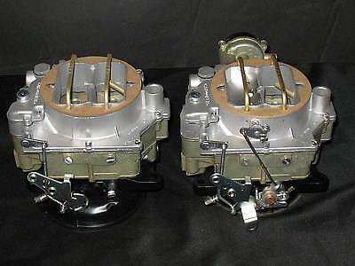 1957-1961 Dual Quad Carter WCFB Carburetors Corvette Chevy 283 270HP 2613s 2614s