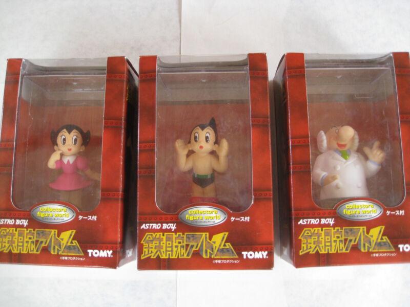 Astro Boy Collectors Figure World, Astro Boy, Uranium Atom Chan, Dr Ochanomizu