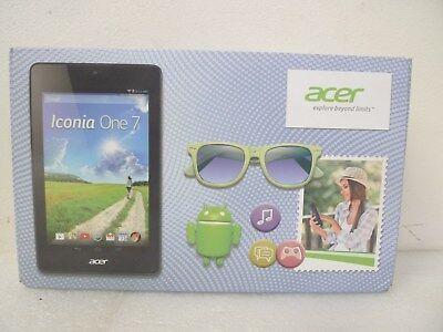 "Acer B1-730_2CR_L16T Iconia One 7 - Intel Atom Z2560 1.60 GHz - 16 GB - Red - 7"" segunda mano  Embacar hacia Mexico"